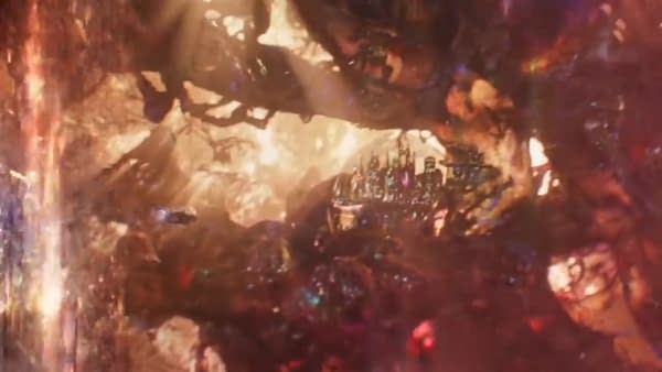 Microverse City from Ant-Man and the Wasp