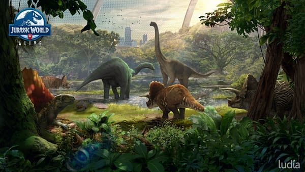 """Jurassic World Alive"" Just Got A New Sanctuaries Feature"