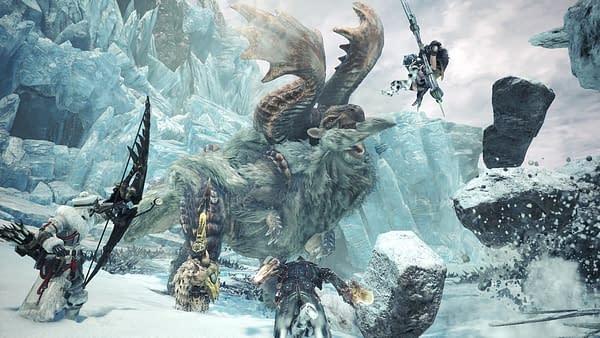 Capcom Reveal Details For Monster Hunter World: Iceborne