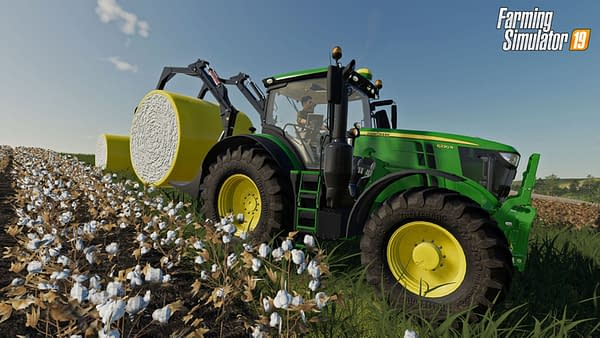 """Farming Simulator 19"" Expands John Deere Vehicles With July DLC"