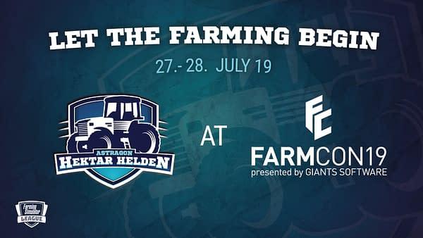 Farming Simulator League Will be At FarmCom 2019