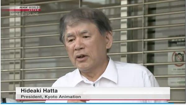 Kyoto Animation Update: Studio President Makes Statement, Suspect Arrested