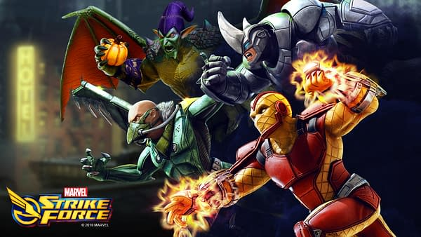 """""""Marvel Strike Force"""" Receives Mysterio With Sinister Six On The Way"""