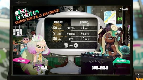 "Team Chaos Wins The Final Splatfest In ""Splatoon 2"" With Style"