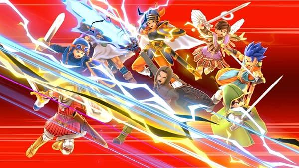 """Nintendo Releases """"Dragon Quest"""" Hero Into """"Smash Bros."""" Today"""