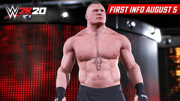 """2K Games Teases """"WWE 2K20"""" With Early Pictures"""