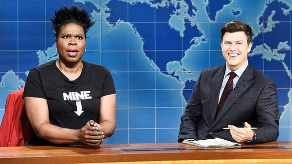 Saturday Night Live star Leslie Jones (Image: NBCUniversal)