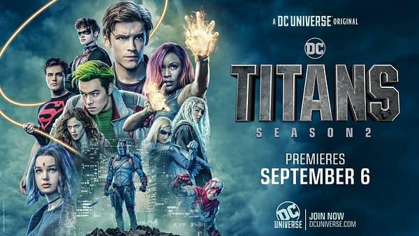 Titans Season 2 logo (Image: WarnerMedia)