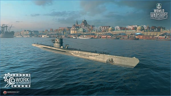 """""""World Of Warships"""" Let Us Play With Their New Submarines!"""