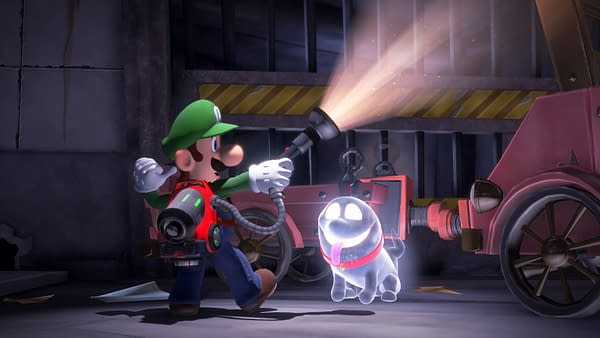 """""""Luigi's Mansion 3"""" Co-Op is Shared-Screen Insanity"""