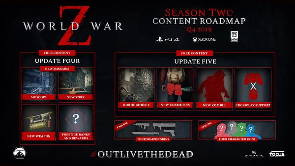 "Saber Interactive's ""World War Z"" Gets A Season 2 Roadmap"