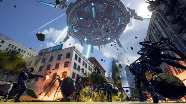 "Crush Gigantic Aliens in ""Earth Defense Force: Iron Rain"" on PC Next Week"