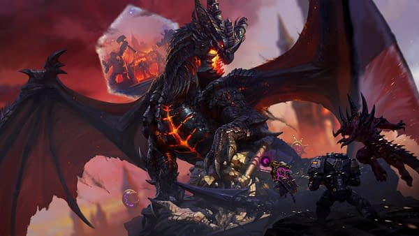 """""""Heroes Of The Storm"""" Adds Deathwing To The Roster"""