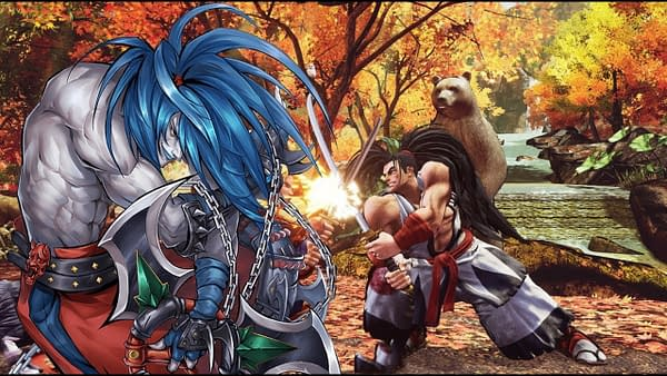 """Samurai Shodown"" DLC Fighter Basara Releases Next Week"