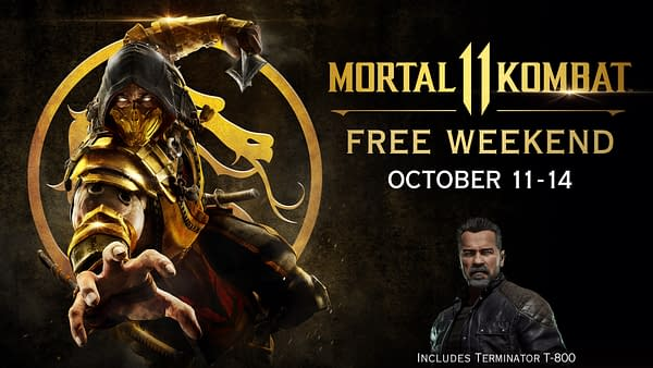 """Mortal Kombat 11"" Will Be Free This Weekend To Play"
