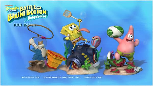 """SpongeBob SquarePants: Battle for Bikini Bottom - Rehydrated"" Gets Two Special Editions"