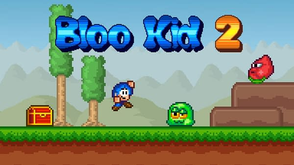 """""""Bloo Kid 2"""" Drops Onto Nintendo Switch This Friday"""
