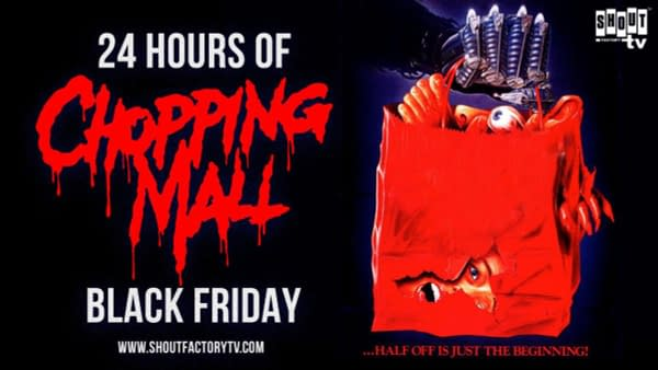 Black Friday Marathon of 'Chopping Mall' Coming to Shout Factory TV