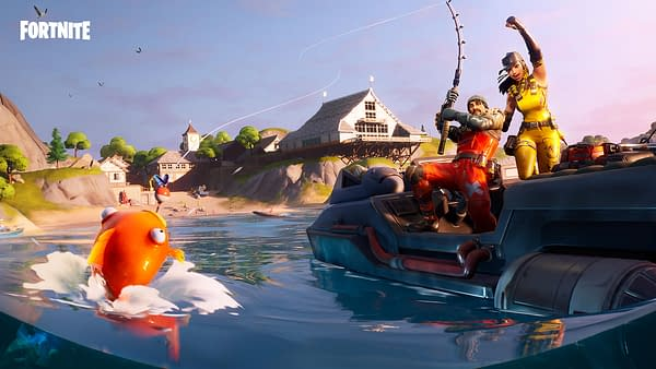 "The ""Fortnite"" Fishing Frenzy Is Currently Underway"