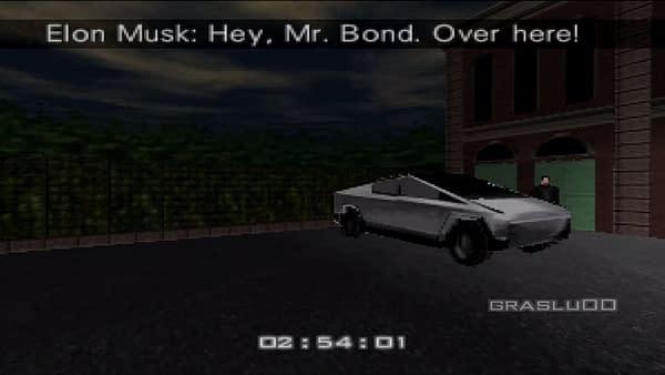 Here's What Elon Musk's Cybertruck Would Look Like in GoldenEye 007