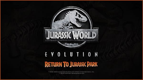 """Jurassic World Evolution"" Gets ""Jurassic Park"" Species Profiles"