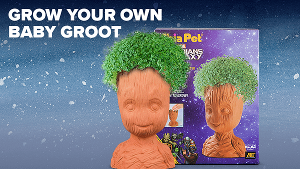 Loot Crate Adds Groot Chia Pet to December Crate