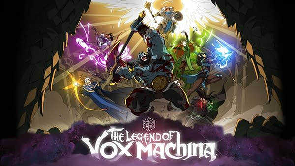Artwork for The Legend Of Vox Machina, courtesy of Critical Role.