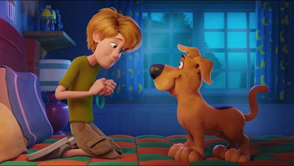 First Poster for Scoob!, courtesy WarnerMedia.