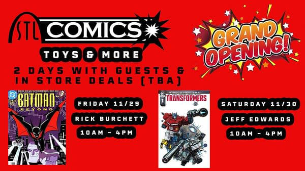 STL Comics And More – a New Store Opens in Manhattan Antique Marketplace, Missouri
