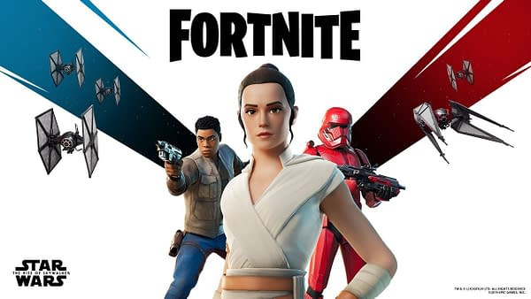 """Fortnite"" Reveals More ""Star Wars"" Details At The Game Awards"