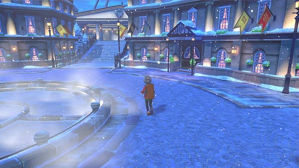 """There's Snow Right Now In """"Pokémon Sword & Shield"""" For An Event"""