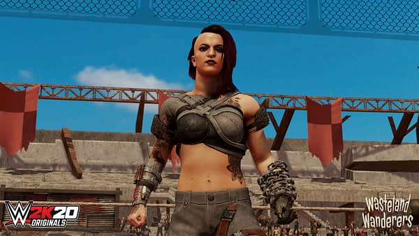 """""""WWE 2K20"""" Gets A New """"Wasteland Warriors"""" Content Pack"""