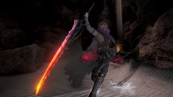 """""""Code Vein"""" Shows Off The New Hellfire Knight DLC"""