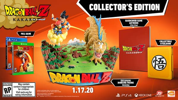 """""""Dragon Ball Z: Kakarot"""" Has A Missing Feature In The Collector's Edition"""