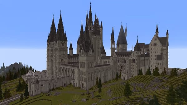 "Someone Made A ""Minecraft"" Map With A ""Harry Potter"" Theme"