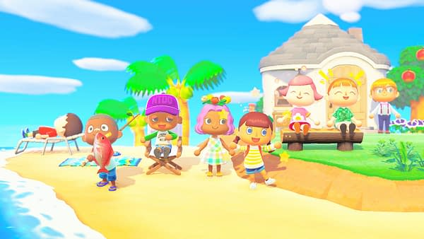Animal Crossing: New Horizons entices you to come enjoy your time on the island.