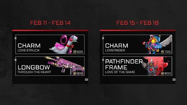 Apex Legends Launches The Valentines Day Rendevouz Event