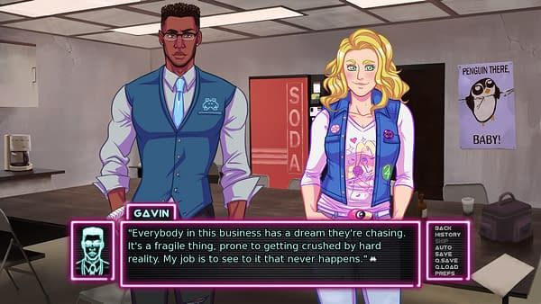 "Visual Novel ""Arcade Spirits"" is Headed to Consoles This May"