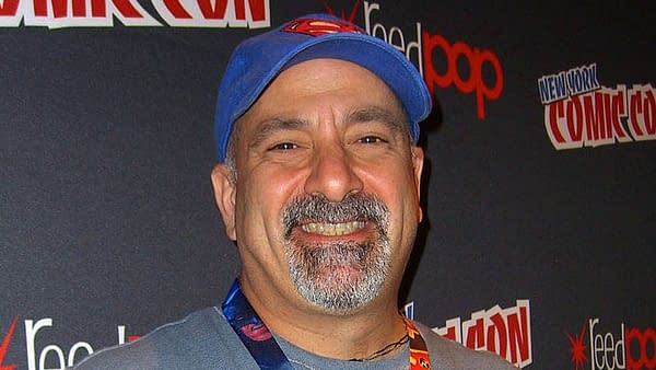 Dan DiDio at New York Comic Con.