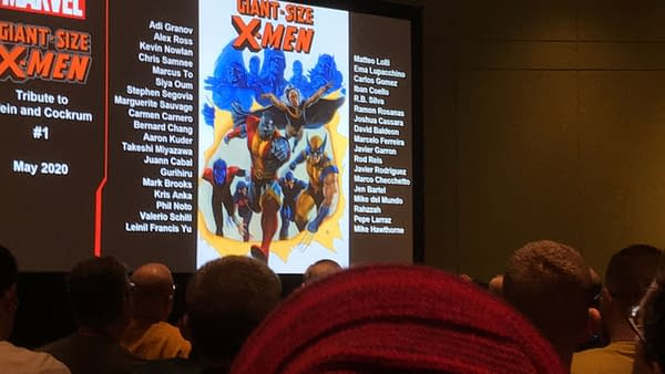 Quick Hits from the X-Men Panel