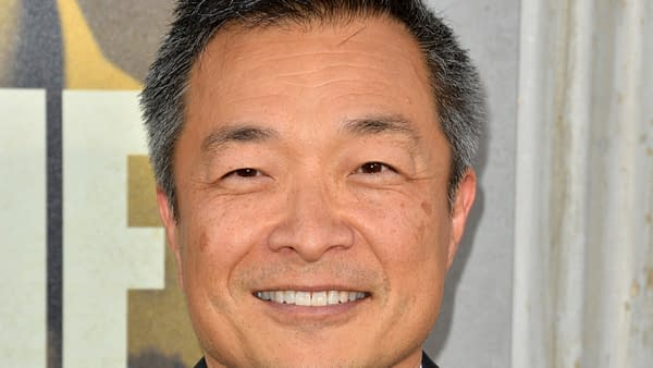 """Jim Lee at the premiere of """"The Kitchen"""" at the TCL Chinese Theatre. Picture: Paul Smith/Featureflash, August 06, 2019"""