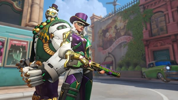 "The Next ""Overwatch"" Event Is Ashe's Mardi Gras Challenge"