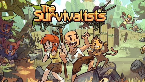 How will you and your friends fair with monkey butlers in The Survivalists? Courtesy of Team17.