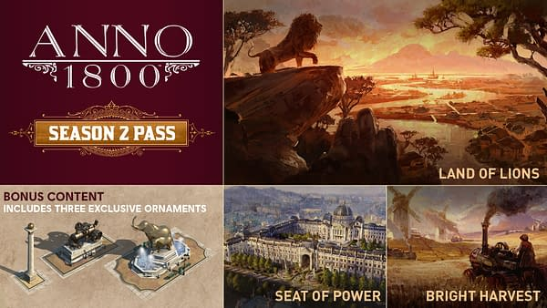 "Unisoft Announces The Season 2 Pass For ""Anno 1800"""