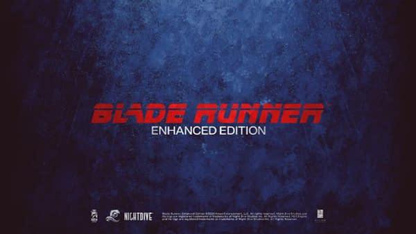 "Nightdive Studios Announces ""Blade Runner: Enhanced Edition"""