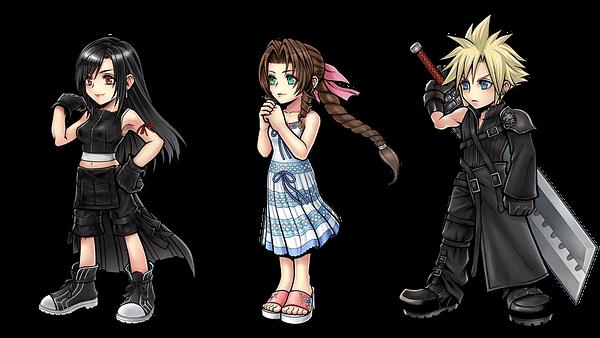 Dissidia Final Fantasy Opera Omnia FF7R Content-1