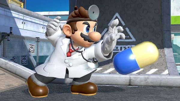 Dr. Mario Super Smash Bros Ultimate