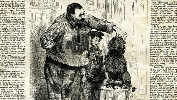 Frank Leslie's Boys and Girls Weekly #795, Jan 14, 1882, featuring Toto.