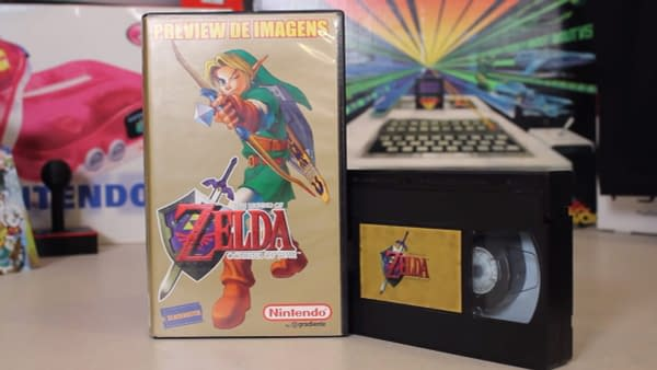 "Uncovered ""Legend Of Zelda: Ocarina of Time"" VHS Shows Beta Footage"