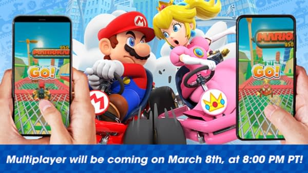"Nintendo Boasts Real-Time Multiplayer Coming To ""Mario Kart Tour"""